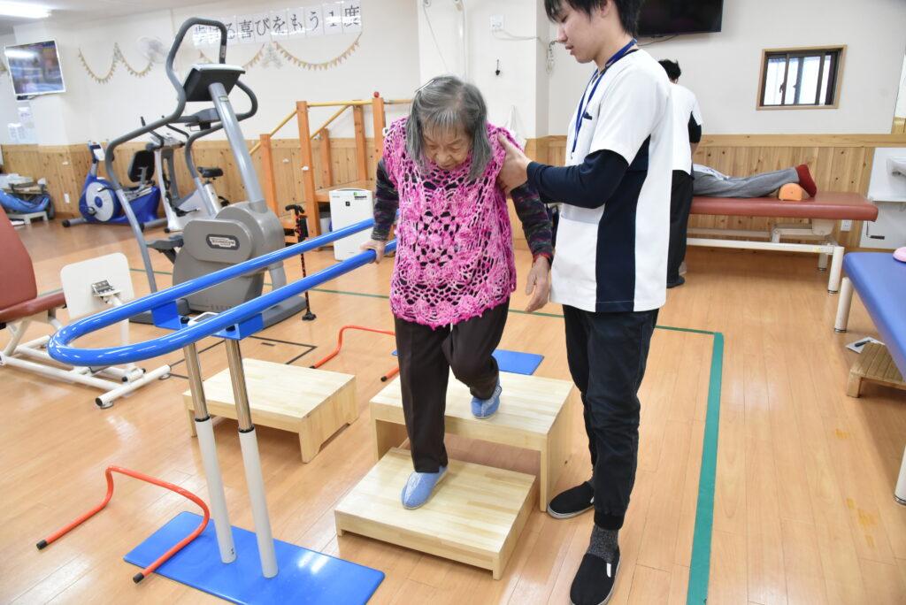 歩行訓練②